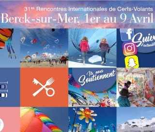 rencontre internationale des cerfs volants de berck